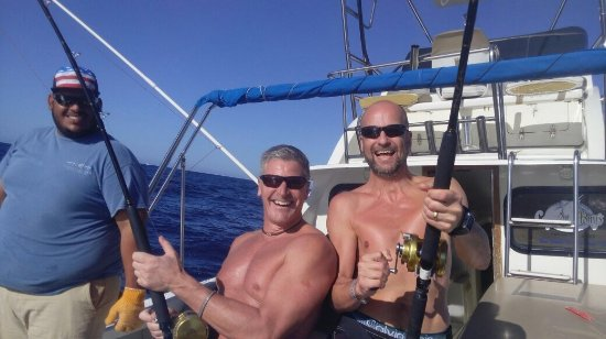"""Pisces Sportfishing: A """"double"""", both landed of course :)"""