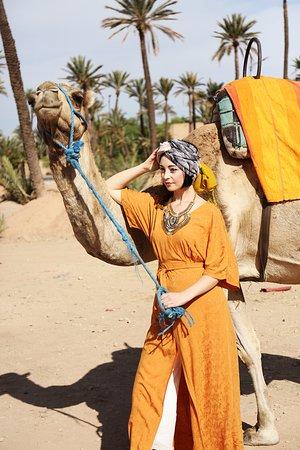 how to get a camel ride marrakech