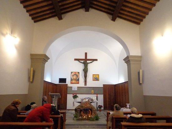 Castiglioncello, Italie : Presepe nella chiesa