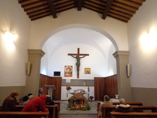 Castiglioncello, Olaszország: Presepe nella chiesa