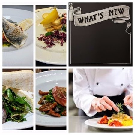 Greenlaw, UK: Check our new menu and Specials board