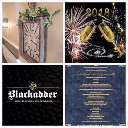 Greenlaw, UK: Dine with Friends and Family this Ney years Eve at The Blackadder Bar and Restaurant
