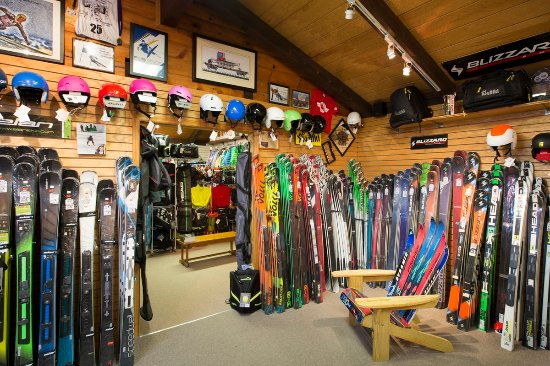 Hunter, NY: The Pro carries skis from to brands such as Blizzard, Elan, Head, and Volkl