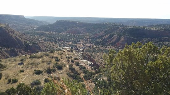 Canyon, TX: A view of the valley
