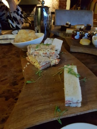 The Bildeston Crown: Afternoon tea already disappearing