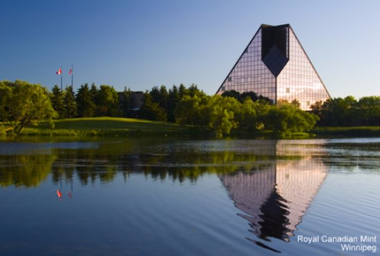 Royal Canadian Mint: RCM Building from a distant.