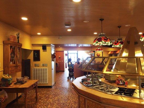 Hamer, Carolina del Sur: Main Room Buffet Island