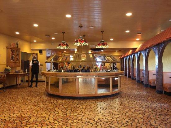 Hamer, Carolina del Sur: Buffet Island in Main Room