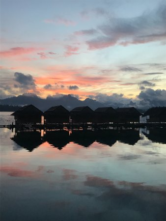 Our Jungle House: Lake Village (at sunrise)