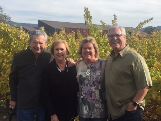 Rutherford, Califórnia: Family Pic at Cakebread