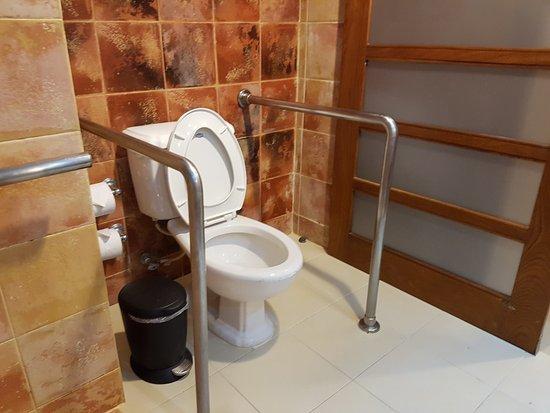 Occidental Caribe: Wheelchair Accessible Washroom