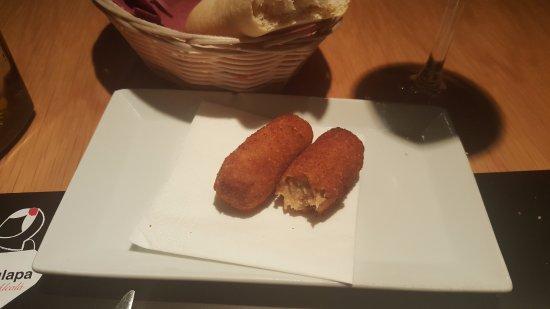 La Chulapa de Alcala: Croquettes de viande (tres bon)