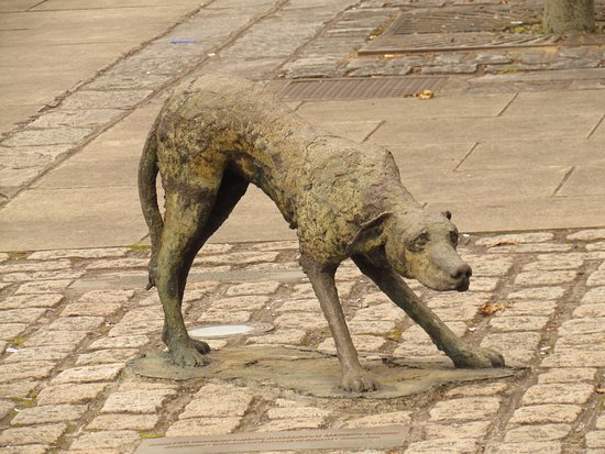 The Famine Sculptures: The Dog