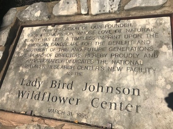 Lady Bird Johnson Wildflower Center: Lady Bird