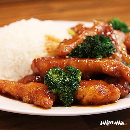 Timaru, Yeni Zelanda: Caramelised Chicken
