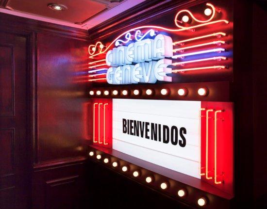 Hotel Geneve Ciudad de Mexico: Cinema Geneve