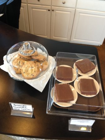 Eureka, IL: Always be sure to check out our black counter where Cakes and Cookies can be found!