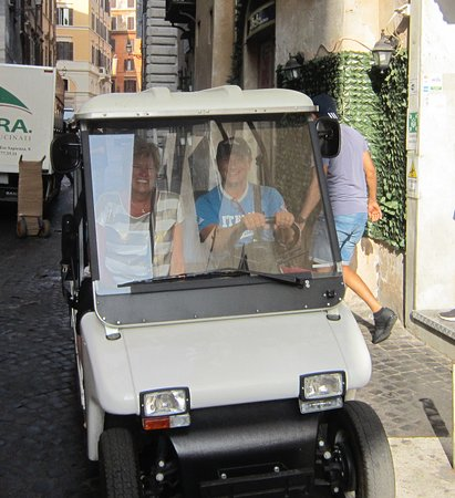 Rudy's Touring Service - Driving & Walking Tours: Janine & Rudy