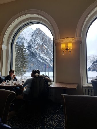 Excellent spot after a day of Snowshoeing