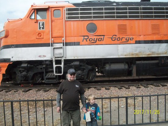 Royal Gorge Route Railroad: My grandson and I love trains!