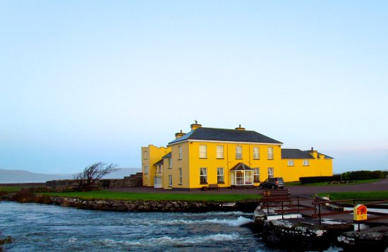 Waterville House with Currane River in foreground