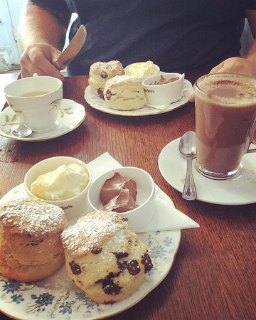 Porthleven, UK: Incredible 'Chocolate Cream Tea!'