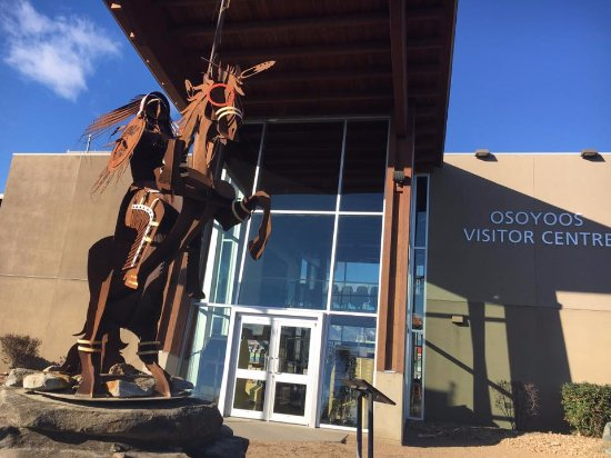 Our Osoyoos Visitor Centre on another sunny day!