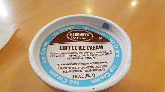 Oxon Hill, MD: Hershey Ice cream cup