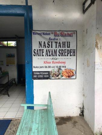 Изображение Nasi Tahu & Sate Srepeh Bu Slamet
