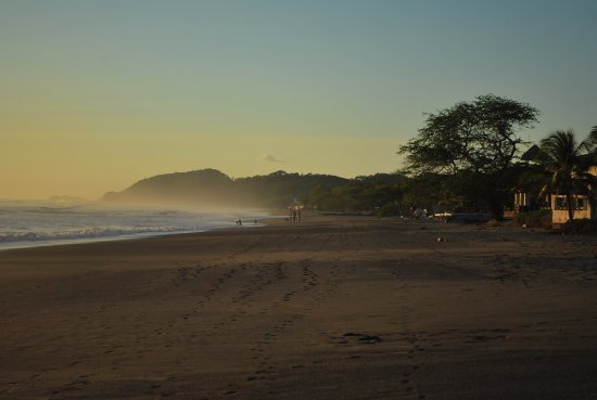 Las Salinas, Nicaragua : a mostly deserted beach, the stars were amazing at night