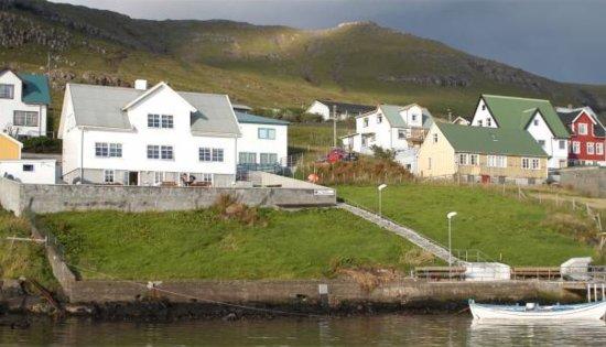 Tvoroyri, Faroe Islands: Guesthouse Undir Heygnum