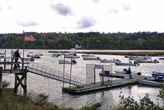 Long Island, Nova York: Cold Spring Harbor Marina, LI, NY