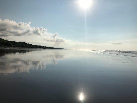 Alma del Pacifico Beach Hotel & Spa: A Morning walk on the beach at Alma del Pacifico