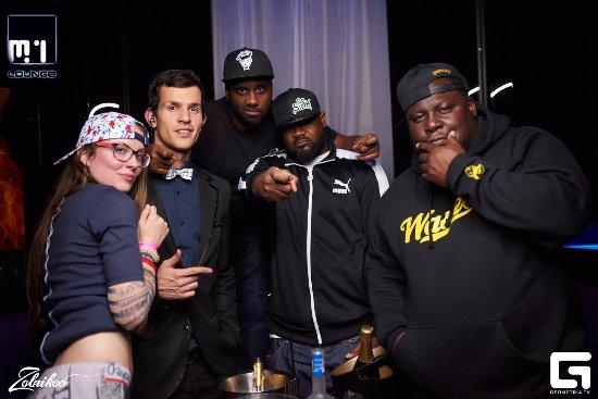 M1 Lounge Bar & Club: Ghostface Killah (Wu Tang Clan) at M1 Lounge