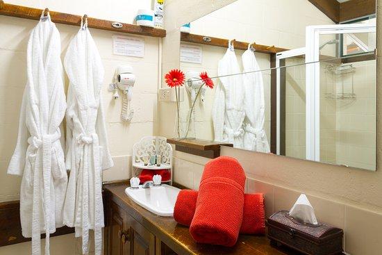 Blackheath, Australië: deluxe room bathroom