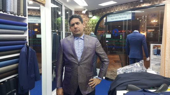 Happy Customer Mr Mike Longo From Usa Picture Of Overseas Tailor