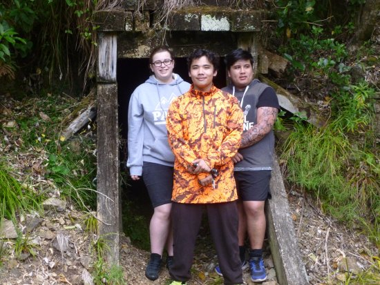 Opotiki, New Zealand: outside tunnel