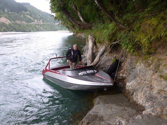 Opotiki, New Zealand: Mark Motu river jet