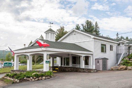 Quality Inn Lake Placid : Hotel entrance