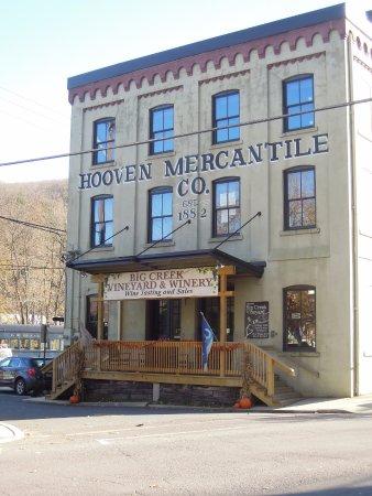 Jim Thorpe, Pensylwania: Big Creek Vineyard Tasting Room