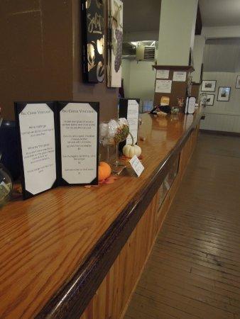 Jim Thorpe, PA: Big Creek Vineyard Tasting Room