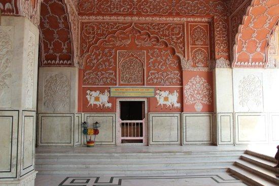 Govind Devji Temple: Inside the View of Temple.