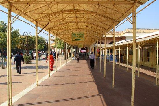 Govind Devji Temple: Entrance View of Temple