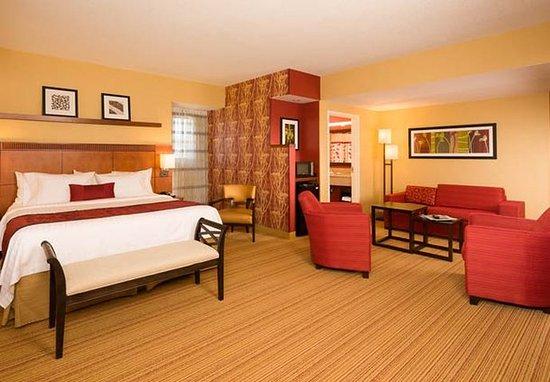 Waltham, MA: King Suite Sleeping Area