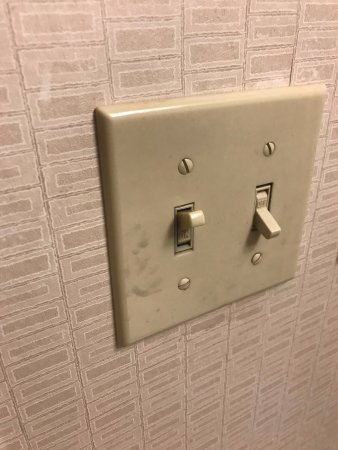 What is this on the bathroom light switch? - Picture of Detroit ...
