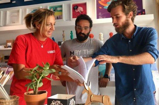 Heraklion Handmade Souvenir Small Group Shopping Tour