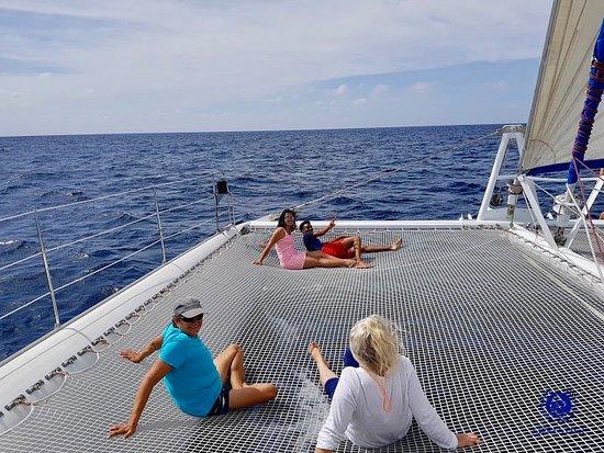 Le Marin, Martinik: Lounging