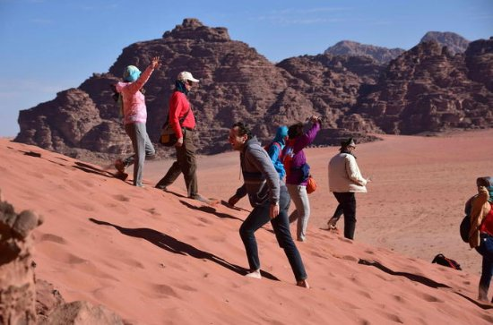 Tour privato 3Day: Petra Mount Nebo e