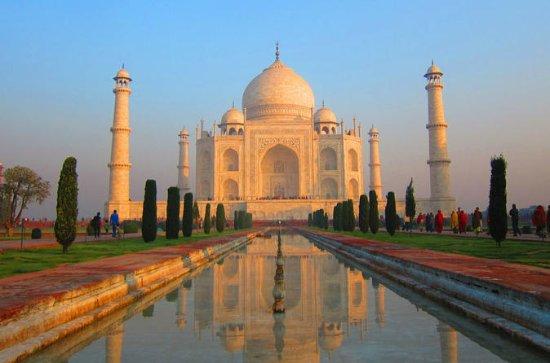 Excursão ao nascer do sol no Taj Mahal...