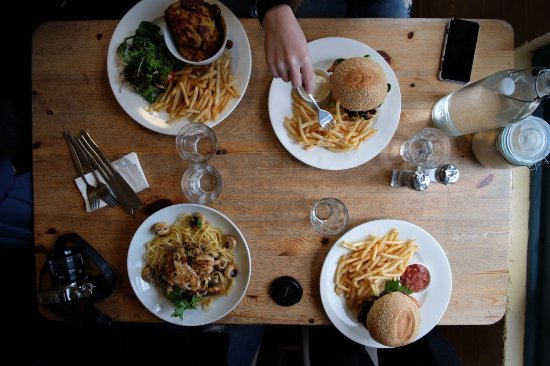 Wentworth Falls, Australia: Our lunch